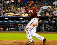 Justin Upton arizona diamondbacks. Zdjęcie Stock