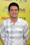 Justin WIllman. LOS ANGELES - OCT 22: Justin WIllman arriving at the 2011 Variety Power of Youth Evemt at the Paramount Studios on October 22, 2011 in Los royalty free stock photos