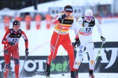 Justina Kowalczyk - ski sprint Stock Photos