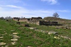 Justiniana Prima, cidade de Roman Byzantine imagens de stock