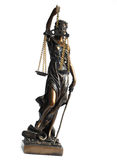 Justitia Royalty Free Stock Image