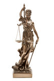 Justitia Foto de Stock Royalty Free