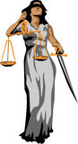 Justitia Image stock