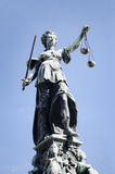 Justitia in Frankfurt Germany Stock Photo