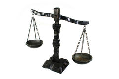 Justitia horizontal Royalty Free Stock Image