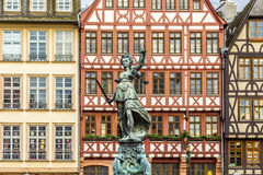 Justitia, a monument in Frankfurt, Germany Royalty Free Stock Photos