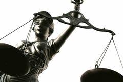 Justitia poetic justice Stock Photo