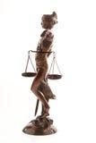 Justitia. Símbolo de la justicia Imágenes de archivo libres de regalías