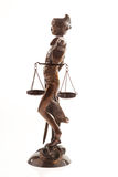 Justitia. Symbol of justice Royalty Free Stock Images