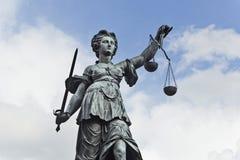 Justizia Photo libre de droits