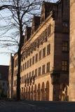 Justizpalast - palais de justice - Nuremberg, Allemagne du sud images libres de droits