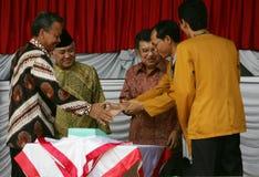 Jusuf Kalla Fotografie Stock Libere da Diritti