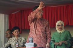 Jusuf Kalla Fotografia Stock Libera da Diritti