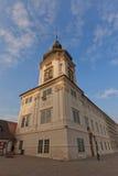Jusuit-College (1667) in Kutna Hora Lange Belichtung Lizenzfreies Stockbild