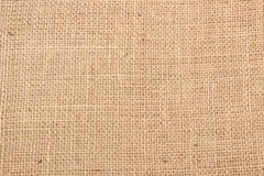 Jute as background texture Royalty Free Stock Photos