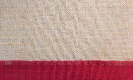 Jute background Royalty Free Stock Photography