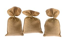 Jute bag Royalty Free Stock Images