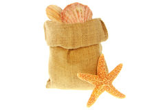 Jute bag Stock Images