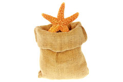 Jute bag Stock Photo