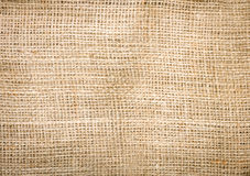 Jute bag backgroung Royalty Free Stock Photo