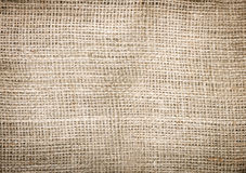 Jute bag backgroung Stock Image
