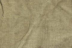 Jute Bag Or Burlap Horizontal Background Texture. Close-up Stock Image