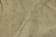 Jute Bag Or Burlap Horizontal Background Texture Stock Image