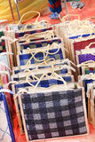 Jute bags Royalty Free Stock Photo