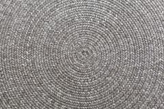 Jute braided home spiral rug. Jute braided home spiral rug background texture pattern Royalty Free Stock Images