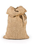 Jute canvas bag Royalty Free Stock Photos