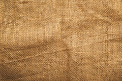 Jute canvas texture Royalty Free Stock Photo