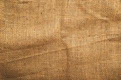 Jute canvas texture. Natural potato sack texture Royalty Free Stock Photo