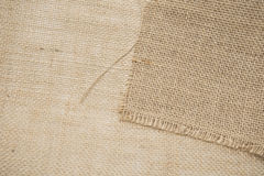 Jute canvas Royalty Free Stock Photography