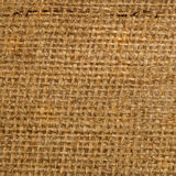 Jute canvas texture Stock Photography