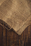 Jute canvas texture Royalty Free Stock Photography