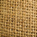 Jute canvas texture Royalty Free Stock Images