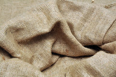 Jute cloth Royalty Free Stock Images