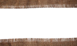 Jute cloth Stock Photo