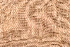 Jute Coarse Canvas Texture Royalty Free Stock Images