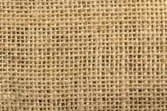 Jute fabric Stock Image
