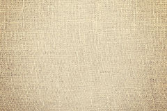 Jute fabric natural texture or background.  Royalty Free Stock Image