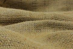 Jute fabric. Royalty Free Stock Photos