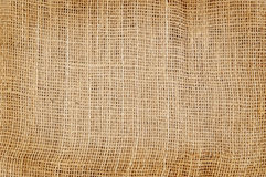 Jute hessian burlap background Stock Images