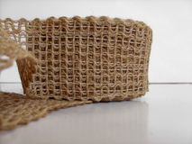 Jute lace Stock Photo