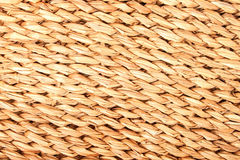 Jute Mat Background Royalty Free Stock Photo