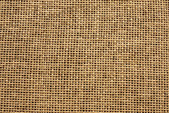 Jute mat burlap background Stock Photography