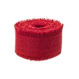 Jute ribbon roll Stock Images