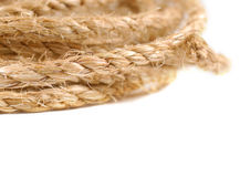 Jute rope Stock Image