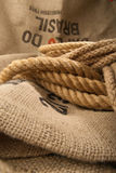 Jute rope Stock Photos
