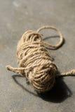 Jute rope bundle Royalty Free Stock Images